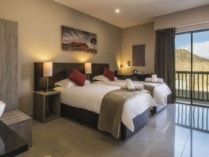 Springbok Room Interior Two Single Beds