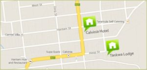 Springbok Inn map
